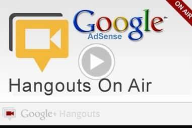 hangout-adsense-google