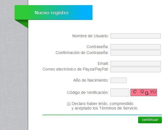 formulario registro neobux